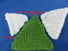 Circular Knitting Machine, Knitting Machine Patterns, Addi Express, Triangle, Crochet Hats, Make It Yourself, Projects, Tips, Youtube