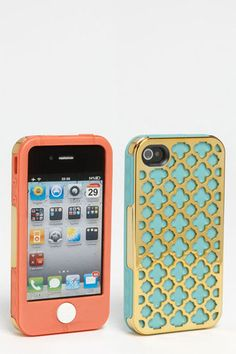 Tech Candy Barcelona Gold iPhone Case  I don't have an iPhone, but if I did, I'd get that case for it