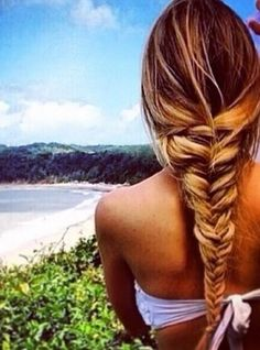 i need to fishtail ma hair like this sometime