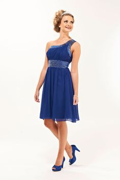 Spaghetti strap - Blue Bridesmaid Dresses, Royal Blue, Navy ...