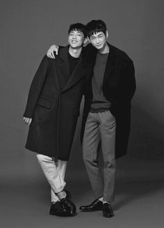 Kim Ji Soo and Lee Won Geun
