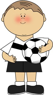 Boy with Soccer Trophy Clip Art - Boy with Soccer Trophy Image ...