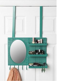 Over the Door Vanity Station. Great dorm room gift for the fashionable Grad. See more of out picks on: blog.gifts.com/...