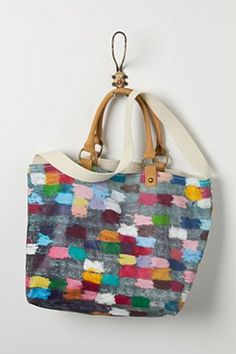 Colour Cycle Tote | Anthropologie.eu This link is only to buy the bag,