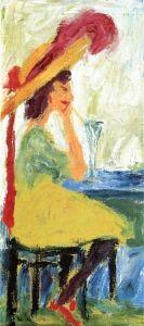 Young Lady - Emil Nolde - The Athenaeum