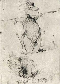 Босх-Jheronimus Bosch. Рисунки и гравюры. - Интересное и забытое - быт и курьезы прошлых эпох.