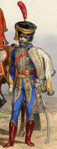 Officier, 5e Hussards, 1807-1810