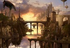 steampunk cityscape wallpaper - Google Search