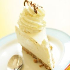 A Sweet and fluffy recipe for delicate white chocolate cheesecake. Enjoy with a cup of hot chocolate.. Delicate White Cheesecake Recipe from Grandmothers Kitchen.