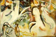 Painter Wassily Kandinsky. Eastern suite (Arabs III). 1911