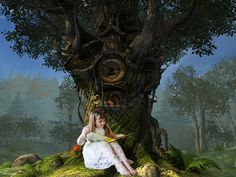Reading in wonderland-conceptual