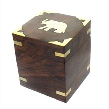 Elephant Wooden Box £9.99  #box #wood #elephant #home