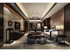 ☆Asian fused modern interior
