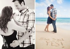 Check out this beautiful Hawaii proposal