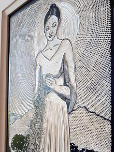 Lino Tiles, Farm Shop, Linocut Prints, Hand Coloring, Printmaking, Fine Art Prints, Museum, African, Culture