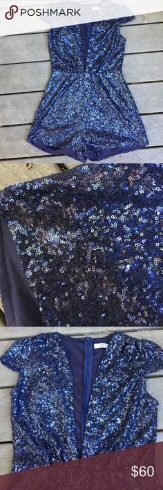 Toni sequin romper Great condition Tobi Dresses