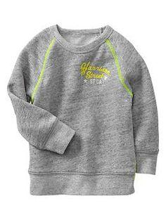Ollie- sz 2 Marled graphic sweatshirt