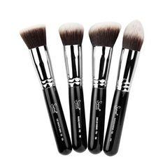 Amazon.com: Sigma Synthetic Kabuki Kit 4 Brushes: Beauty