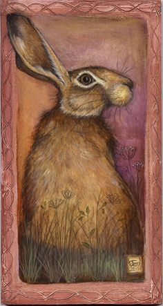 Points You Should Know Prior To Obtaining Bouquets Jemima Jameson: Gallery. Jack Rabbit, Rabbit Art, Hare Illustration, Photo D Art, Into The Fire, Bunny Art, Art Graphique, Animal Paintings, Beautiful Creatures