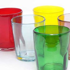 Italian glassware - Bei water tumbler