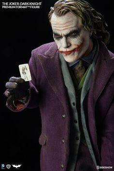 DC Comics The Joker The Dark Knight Premium Format(TM) Figur | Sideshow Collectibles