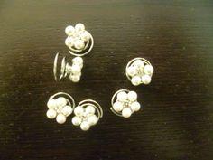 Espiral de novia con perlas - Complementos de Vestidos de Novia - Alquiler de…