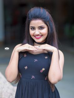 South Indian Actress Anupama Parameswaran Photo Shoot In Blue Dress Beautiful Girl Photo, Beautiful Girl Indian, Most Beautiful Indian Actress, Simply Beautiful, Stylish Girl Images, Stylish Girl Pic, Girl Photo Poses, Girl Photos, Photo Shoot