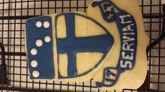 Grad party..Franken cookie