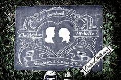 $119 madly in love with these custom painted chalkboards!!