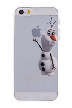 Olaf Transparent Back Cover Case for iPhone 5 & 5S Disney Phone Cases, Phone Cases Samsung Galaxy, Ipod Cases, Cute Phone Cases, Cute Cases, Iphone 5s, Unique Iphone Cases, Iphone Gadgets, Olaf