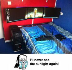 Perfect nerd room
