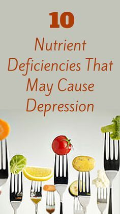 #Y4U? Did You Know That Nutritional Deficiencies May Cause Depression? - # YES4UTOPIA #Psychology - @everydayhealth