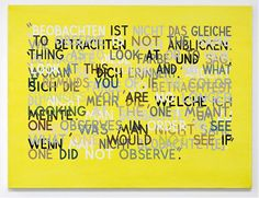 If the Color Changes (#5), 1998 Oil on canvas 91.44 x 121.92 cm (36 x 48 in.) Mel Bochner