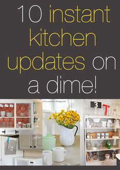 10 Instant Kitchen Updates on a Dime