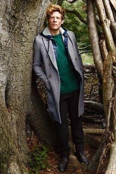 Men's Fashion: James Norton models the season's coats – in pictures Grey wool coat AMI Alexandre Mattiussi Denim jacket Mohair jumper Trousers Lanvin Best Workout Schedule, Fun Workouts, Fitness Workouts, Easy Fitness, Workout Routines, James Norton, Gorgeous Men, Beautiful People, Actor James