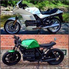 #K100 #Transformers #Projekt2015 Cafe Bike, Cafe Racer Bikes, Cafe Racer Motorcycle, Motorcycle Garage, Motorcycle Travel, Motorcycle Art, Motorcycle Design, Bike Design, Bmw Motorcycles