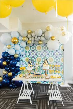 Mehwish's Amalfi Inspired Baby Shower Boy Baby Shower Themes, Boho Baby Shower, Baby Shower Parties, Baby Boy Shower, Baby Showers, Italian Bridal Showers, Baby Shower Photography, Italian Theme, Amalfi