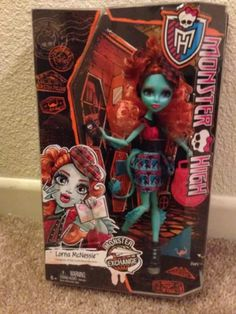 Monster High Student Exchange LORNA McNESSIE Doll NEW In Hand Just Released