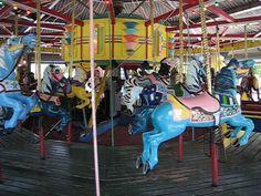 Crandon Park Carousel, Key Biscayne, FL. 1949 Allan Herschell Wood And Metal Horses.  | Flickr