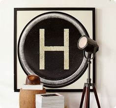 Typewriter Key Art FREE Printables