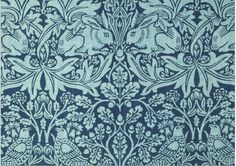 William Morris -- artist, designer, preservationist, and man with an extensive Wikipedia page -- designed Brer Rabbit Wallpaper. Textiles, Textile Patterns, Print Patterns, Floral Patterns, Textile Art, William Morris Wallpaper, William Morris Art, Art Nouveau, Art Deco