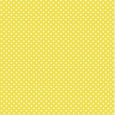 Swiss Dots Mimosa Yellow Beverage Napkins