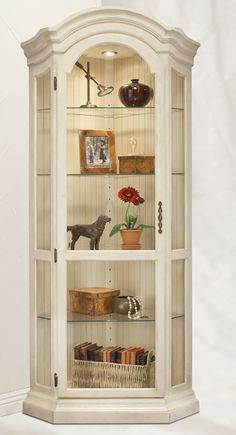 Panorama Corner Display Cabinet - Shell | Philip Reinisch | Home Gallery Stores