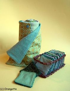Null Abfall 2 in 1 wiederverwendbares wiederverwendbares Sopalin und DI . - - Tuto zéro déchet 2 en 1 Sopalin réutilisable et lingettes démaquillantes DI… Zero Waste Tutorial Wiederverwendbare Sopalin- und DIY-Reinigungstücher Coin Couture, Couture Sewing, Diy And Crafts Sewing, Sewing Projects, Sewing Hacks, Diy Projects, Zero Waste, Sewing Patterns, Creations
