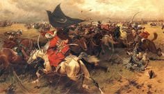 During the Battle of Vienna, Count Ernst Rüdiger von Starhemberg was outnumbered 5 to 1 against a sea of Turkish soldiers, led by the swarthy Kara Mustafa.
