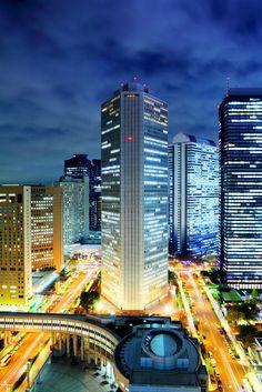 Tokyo cityscape at night. #Tokyo #Japan #Asia #FarEast