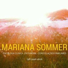 No Espaço Tera tem #psicoterapia com a Mariana Sommer, amparadas pelos métodos do #pathwork e #constelaçõesfamiliares.