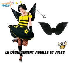 Déguisement abeille pour adultes en vente sur déguisement magic. Pour avoir tous les détails de ce déguisement d'abeille ça se passe ici  http://www.deguisement-magic.com/deguisement-femme-abeille-4.html
