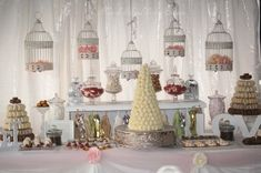 fall wedding dessert table - Wedding Dessert Table and the Whole of Decoration – Wedding and Bridal Inspiration Galleries Fall Wedding Desserts, Sweet Table Wedding, Dessert Bar Wedding, Wedding Sweets, Wedding Candy, Sweet Table Decorations, Wedding Decorations, Wedding Ideas, Wedding Inspiration