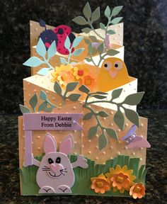 Close up of 2013 Easter Card